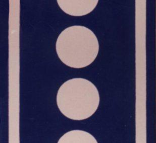 Azulejo cenefa castillo de Benidorm