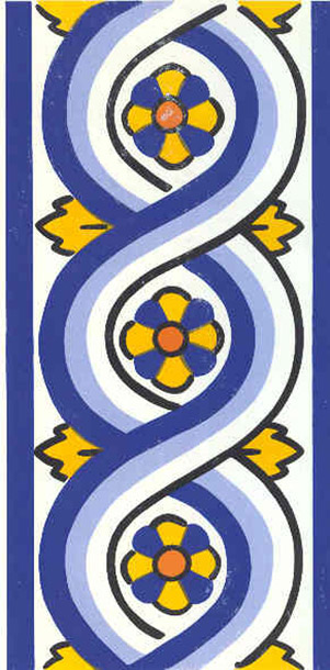 Azulejo de ochos