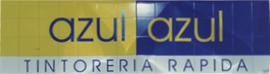Reproducción en azulejos cerámicos de una marca, para rótulo del establecimiento