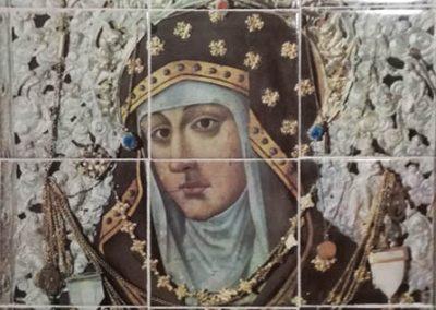 Mural cerámico de la Virgen de Loreto