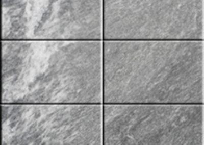 Fondo de azulejos cerámicos imitación mármol gris